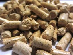 Пеллеты древесные топливные 6 мм сосна Экспорт