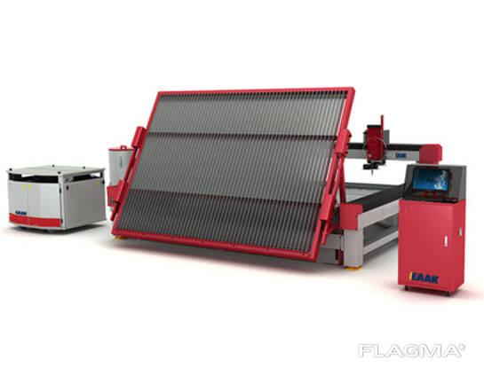 CNC water jet glass cutting machine