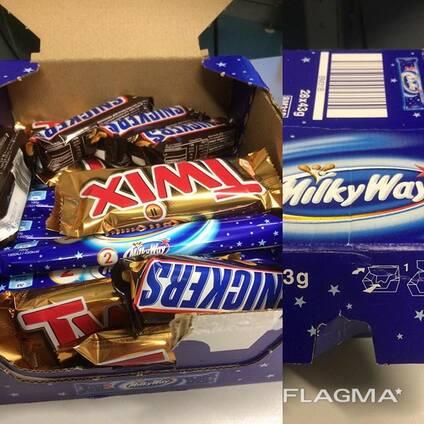 Snickers, Kitkat, Bounty